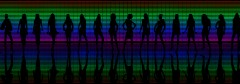 LED Spectrum Shadow dancers