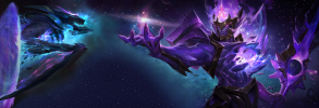 Dark Star Kha'Zix & Jarvan IV Dual Monitor Wallpaper
