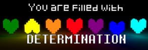 "Undertale 1080p ""You are filled with DETERMINATION"" DMB"