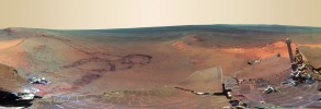 Mars from Opportunity