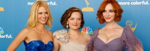 January Jones, Christina Hendricks & Elisabeth Moss