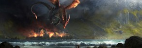 Dragon Attacking Survivors
