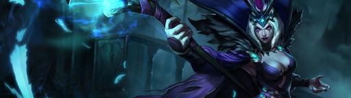 League of Legends: Ravenborn Le Blanc