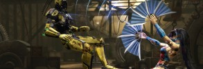 Mortal Kombat 9: Cyrax and Kitana