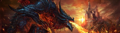 World of Warcraft: Deathwing Attacking Stormwind