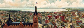 Milwaukee Historic Panorama