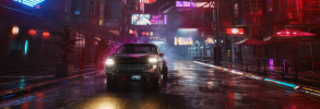 Cyberpunk 2077 - It's good to be in town