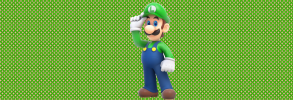 luigi background lol