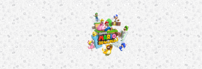 Super mario 3d world clean white background version 2